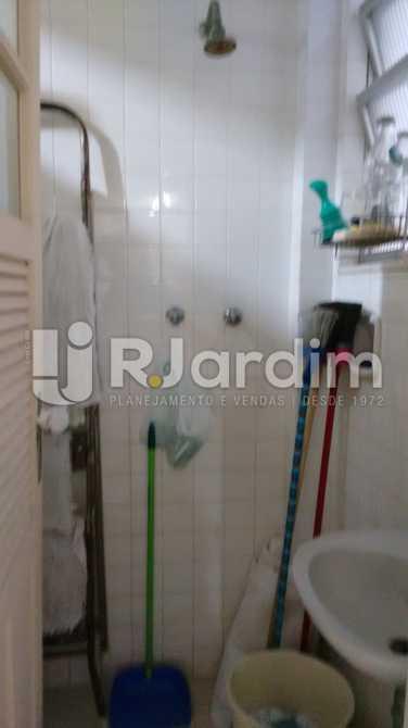 Banheiro de empregada - Apartamento Padrão Residencial Lagoa - LAAP31268 - 30