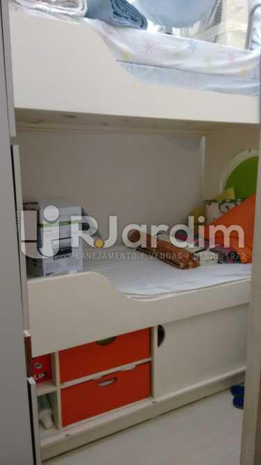 Quarto de empregada 1 - Apartamento Padrão Residencial Lagoa - LAAP31268 - 28