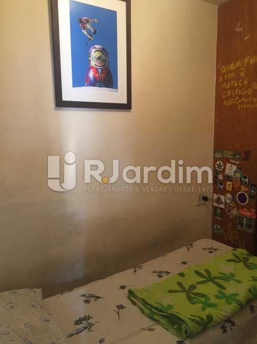 Quarto de serviço - Apartamento Residencial Leblon - LAAP10218 - 14