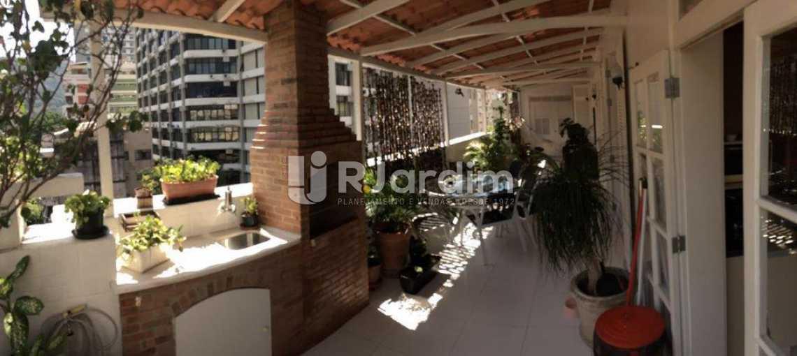 Churrasqueira - Apartamento Padrão Residencial Botafogo - LACO30176 - 6