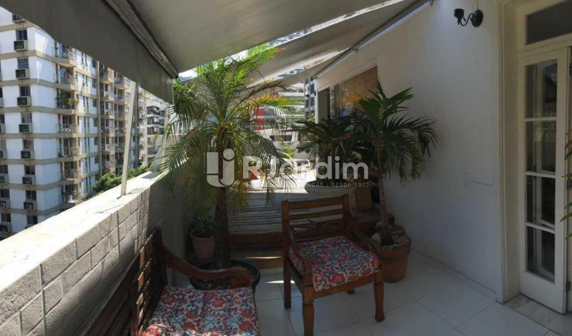 Varanda - Apartamento Padrão Residencial Botafogo - LACO30176 - 3