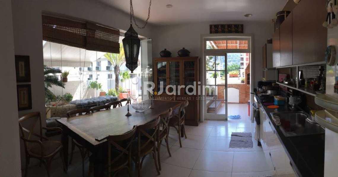 Sala almoço - Cobertura Botafogo 3 Quartos Compra Venda Avaliação - LACO30176 - 9