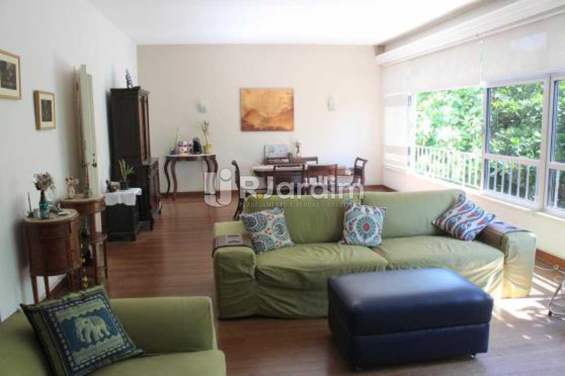 Sala - Cobertura na Quadra da Praia, Leblon, Rio de Janeiro - LACO30178 - 4