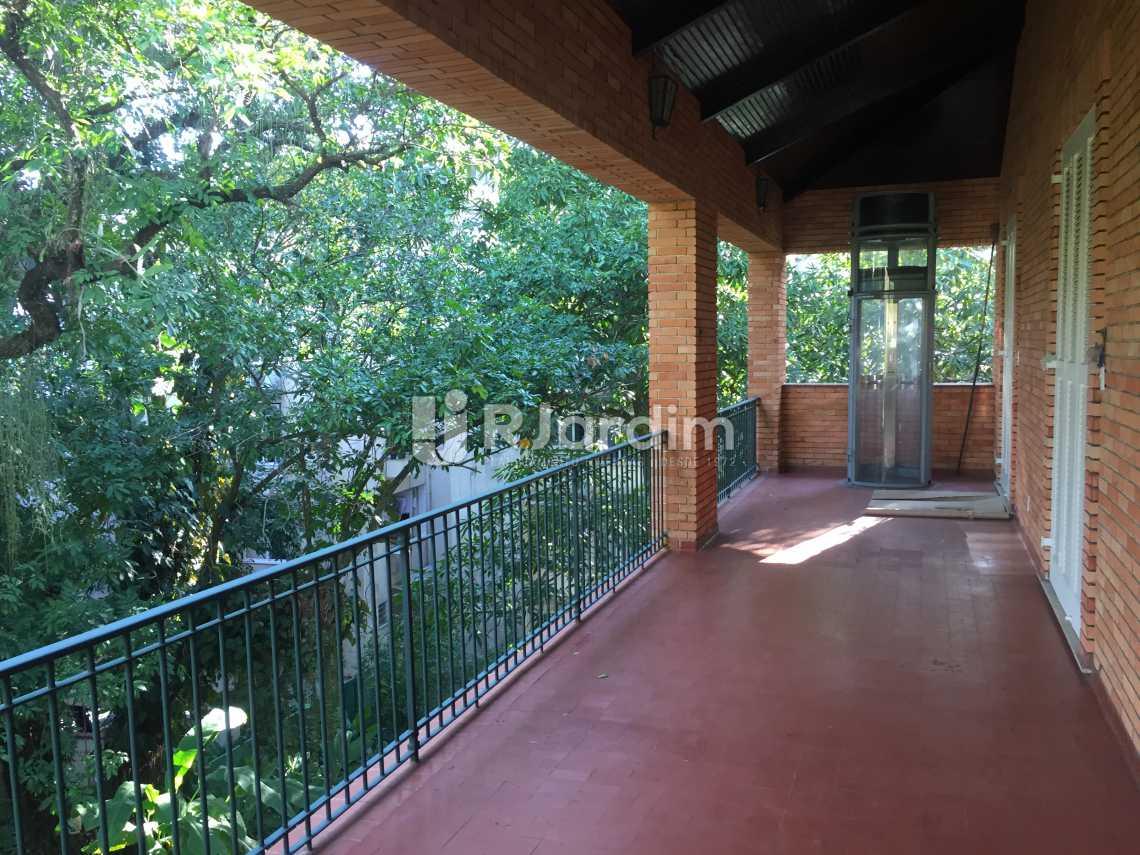 Varanda - Imóveis Aluguel Jardim Botânico Casa - LACA50018 - 25
