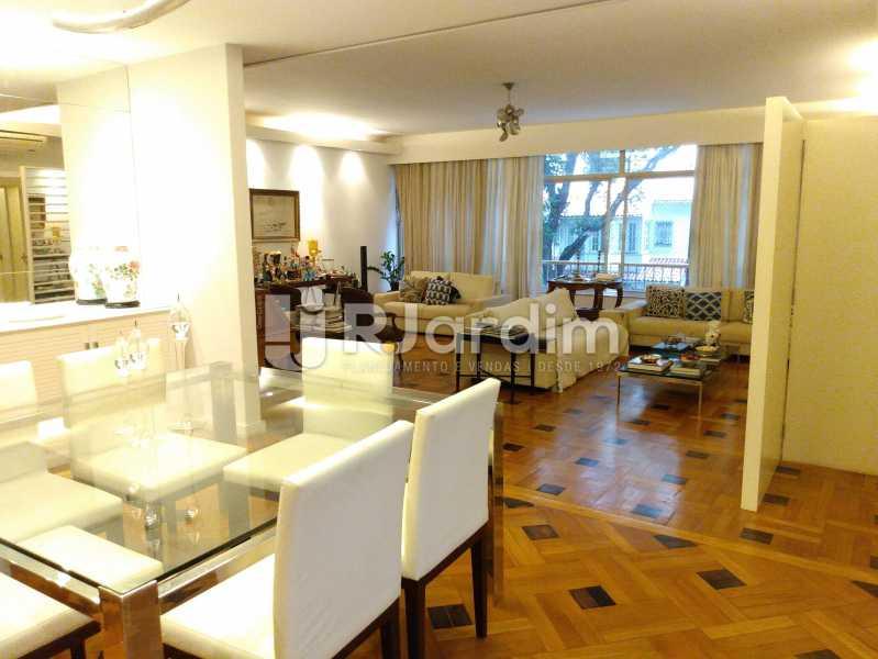 Sala vista da sala de jantar - Apartamento Residencial Ipanema 3 Quartos Compra Venda Avaliação Imóveis - LAAP31308 - 4