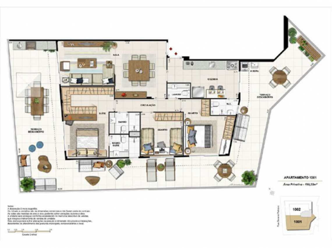 PLANTA5 - Apartamento À VENDA, Botafogo, Rio de Janeiro, RJ - LAAP31321 - 18