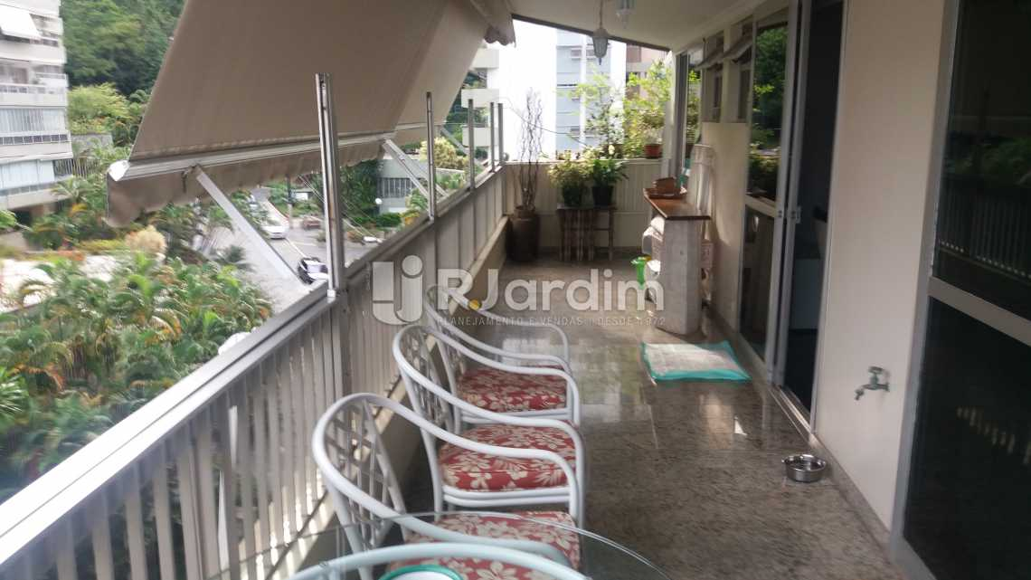 varanda  - Apartamento Padrão Residencial Leblon - LAAP40552 - 4
