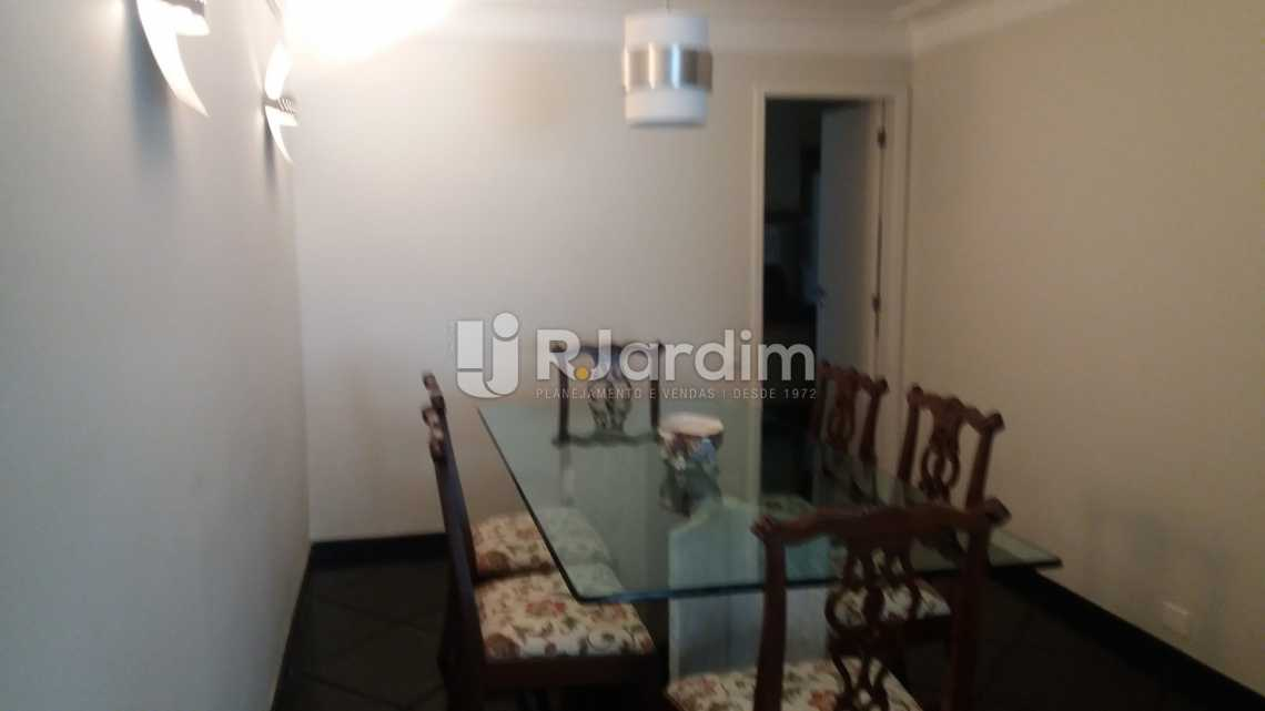 sala de jantar - Apartamento Padrão Residencial Leblon - LAAP40552 - 5