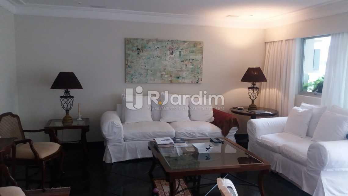 sala de estar - Apartamento Padrão Residencial Leblon - LAAP40552 - 6