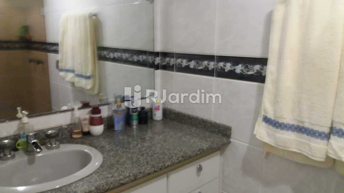 banheiro da suite - Apartamento Padrão Residencial Leblon - LAAP40552 - 11