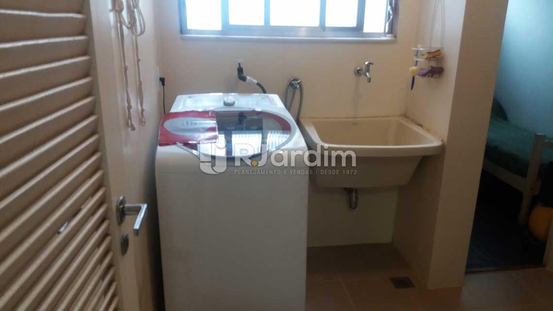 lavanderia - Apartamento Padrão Residencial Leblon - LAAP40552 - 12
