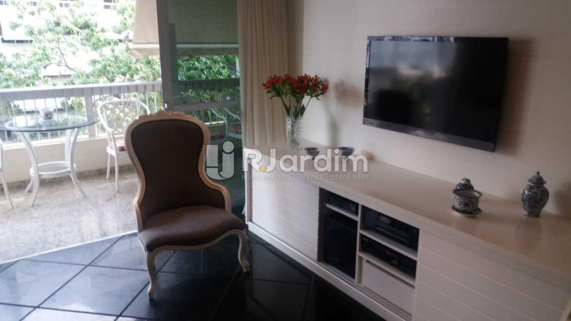 sala de estar - Apartamento Padrão Residencial Leblon - LAAP40552 - 14