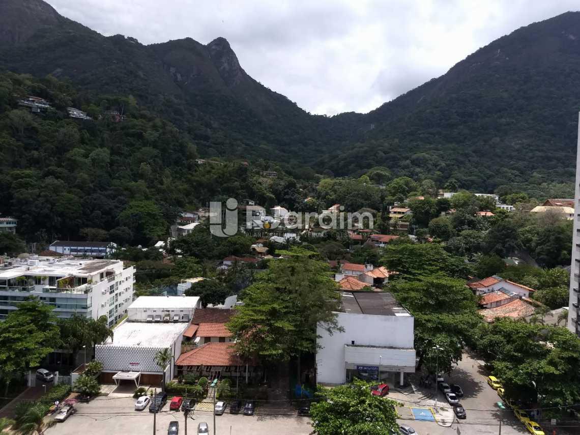 vista dos quartos 2 e 3 - Apartamento Para Alugar - São Conrado - Rio de Janeiro - RJ - LAAP31336 - 15