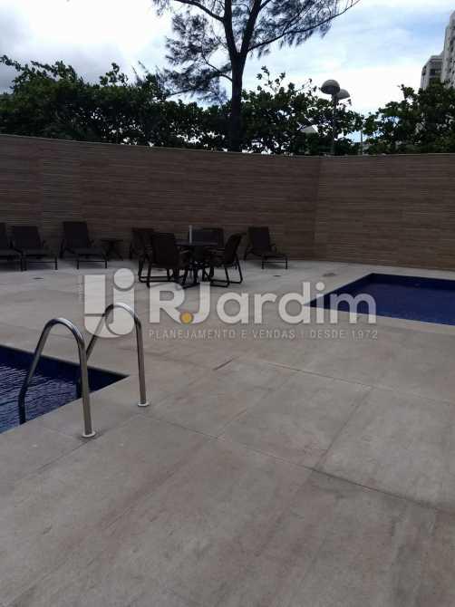 piscina - Apartamento Para Alugar - São Conrado - Rio de Janeiro - RJ - LAAP31336 - 21
