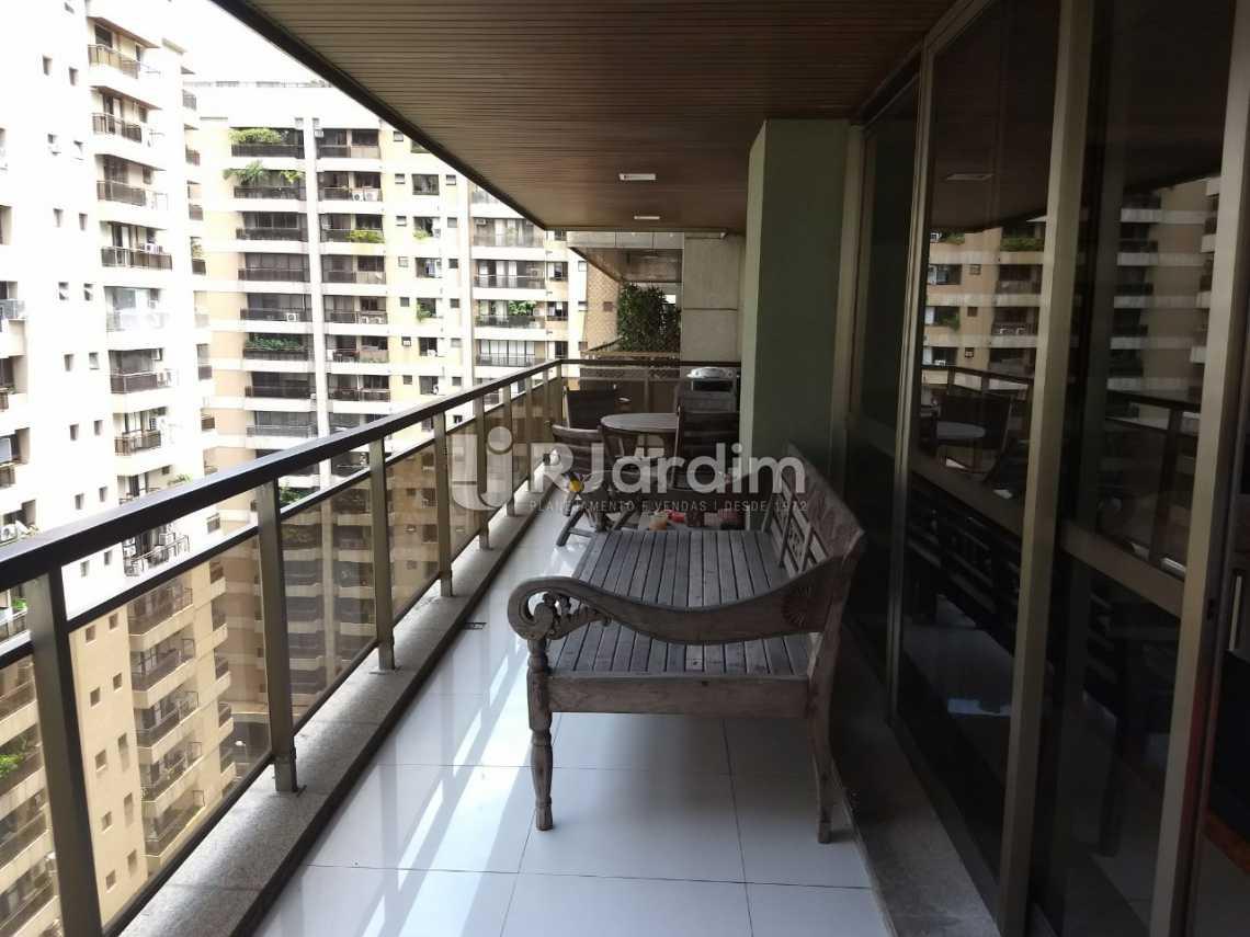 varanda - Apartamento 3 quartos para alugar São Conrado, Zona Sul,Rio de Janeiro - R$ 8.900 - LAAP31336 - 1