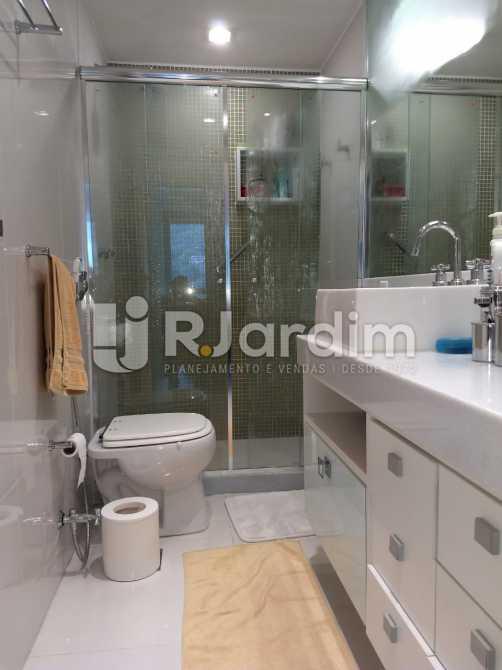 banheiro da suite - Apartamento Para Alugar - São Conrado - Rio de Janeiro - RJ - LAAP31336 - 12