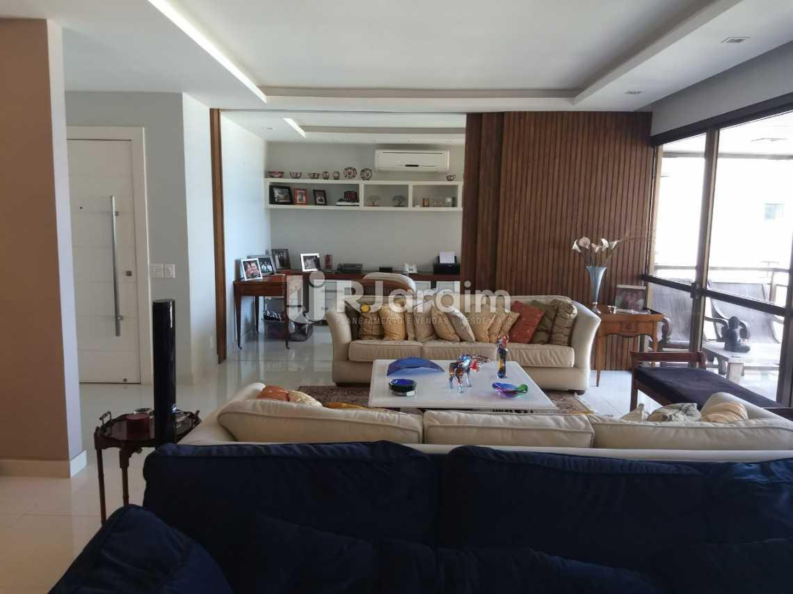 sala  - Apartamento Para Alugar - São Conrado - Rio de Janeiro - RJ - LAAP31336 - 5