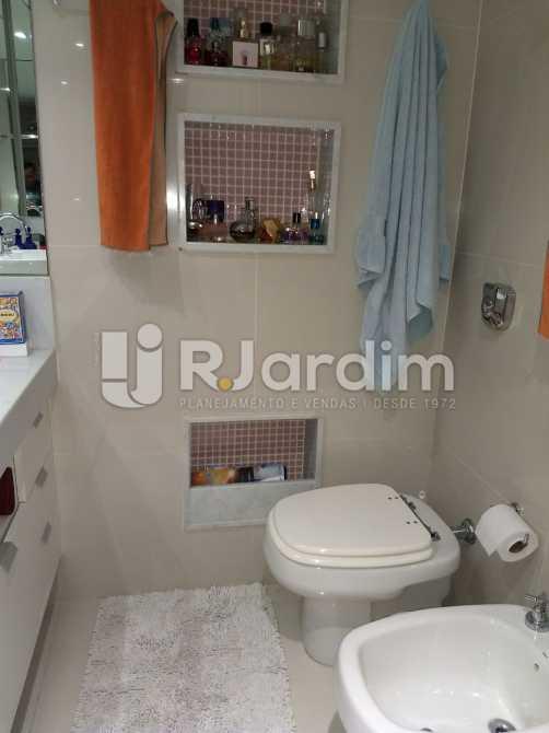 banheiro da suite 2 - Apartamento Para Alugar - São Conrado - Rio de Janeiro - RJ - LAAP31336 - 14