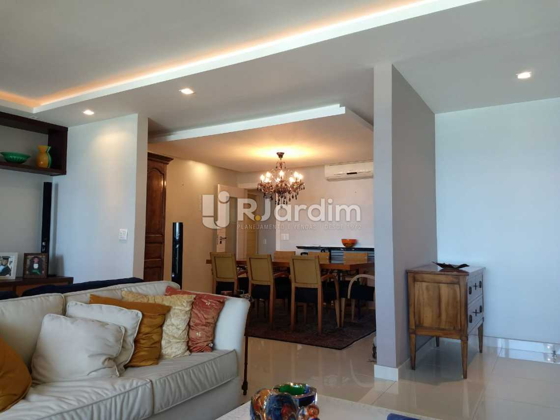 sala 1 - Apartamento Para Alugar - São Conrado - Rio de Janeiro - RJ - LAAP31336 - 4