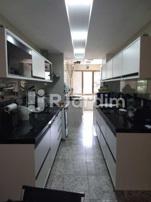 cozinha - Apartamento Para Alugar - São Conrado - Rio de Janeiro - RJ - LAAP31336 - 6