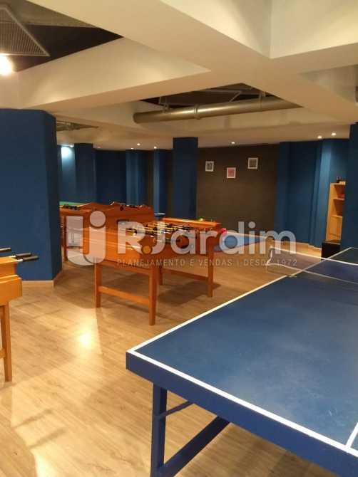 sala de jogos - Apartamento Para Alugar - São Conrado - Rio de Janeiro - RJ - LAAP31336 - 24