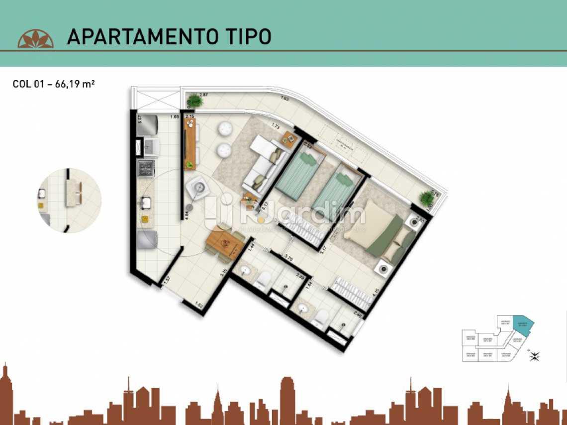APARTAMENTO TIPO 01 - Apartamento À Venda - Vila Isabel - Rio de Janeiro - RJ - LAAP20940 - 11