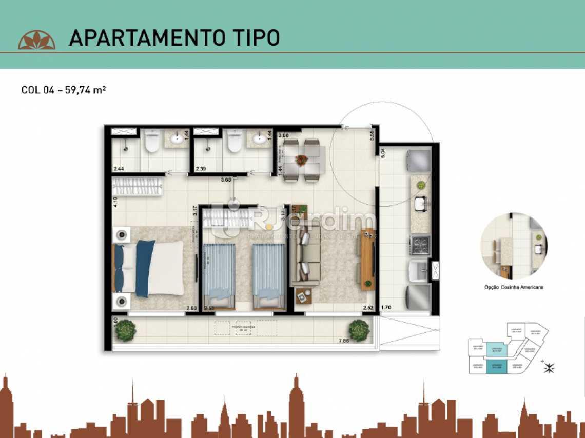 APARTAMENTO TIPO 04 - Apartamento À Venda - Vila Isabel - Rio de Janeiro - RJ - LAAP20940 - 14