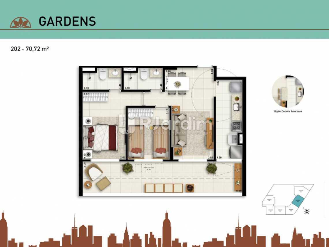 GARDENS 202 - Apartamento Vila Isabel, Zona Norte - Grande Tijuca,Rio de Janeiro, RJ À Venda, 2 Quartos, 66m² - LAAP20940 - 19