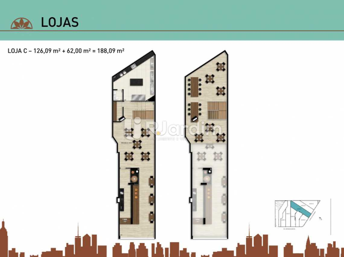 LOJA C - Apartamento Vila Isabel, Zona Norte - Grande Tijuca,Rio de Janeiro, RJ À Venda, 2 Quartos, 66m² - LAAP20940 - 28