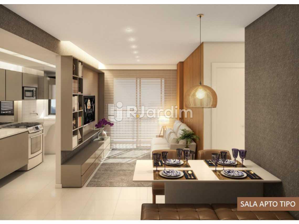 SALA APTO TIPO - Apartamento À Venda - Vila Isabel - Rio de Janeiro - RJ - LAAP20940 - 9
