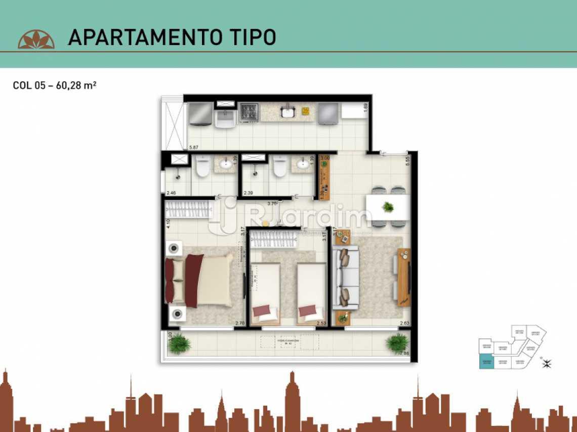 APARTAMENTO TIPO 05 - Apartamento À Venda - Vila Isabel - Rio de Janeiro - RJ - LAAP20940 - 15