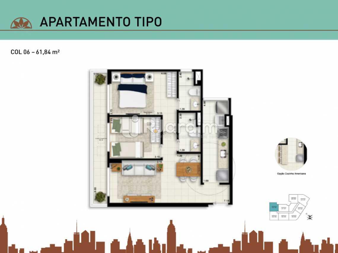 APARTAMENTO TIPO 06 - Apartamento À Venda - Vila Isabel - Rio de Janeiro - RJ - LAAP20940 - 16
