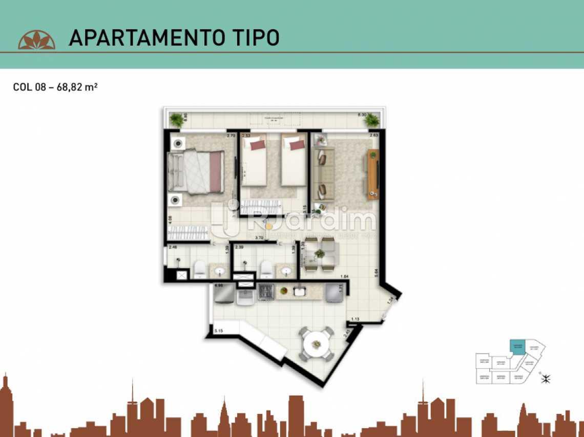 APARTAMENTO TIPO 08 - Apartamento À Venda - Vila Isabel - Rio de Janeiro - RJ - LAAP20940 - 18