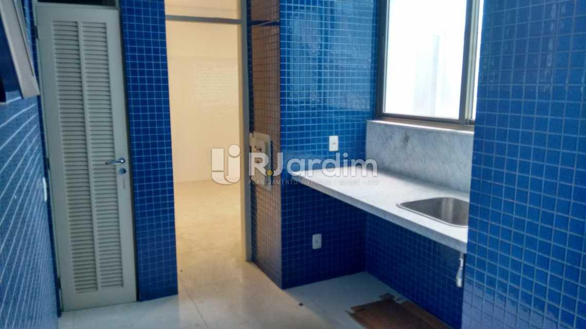 Area de serviço - Apartamento Residencial Leblon - LAAP40558 - 19