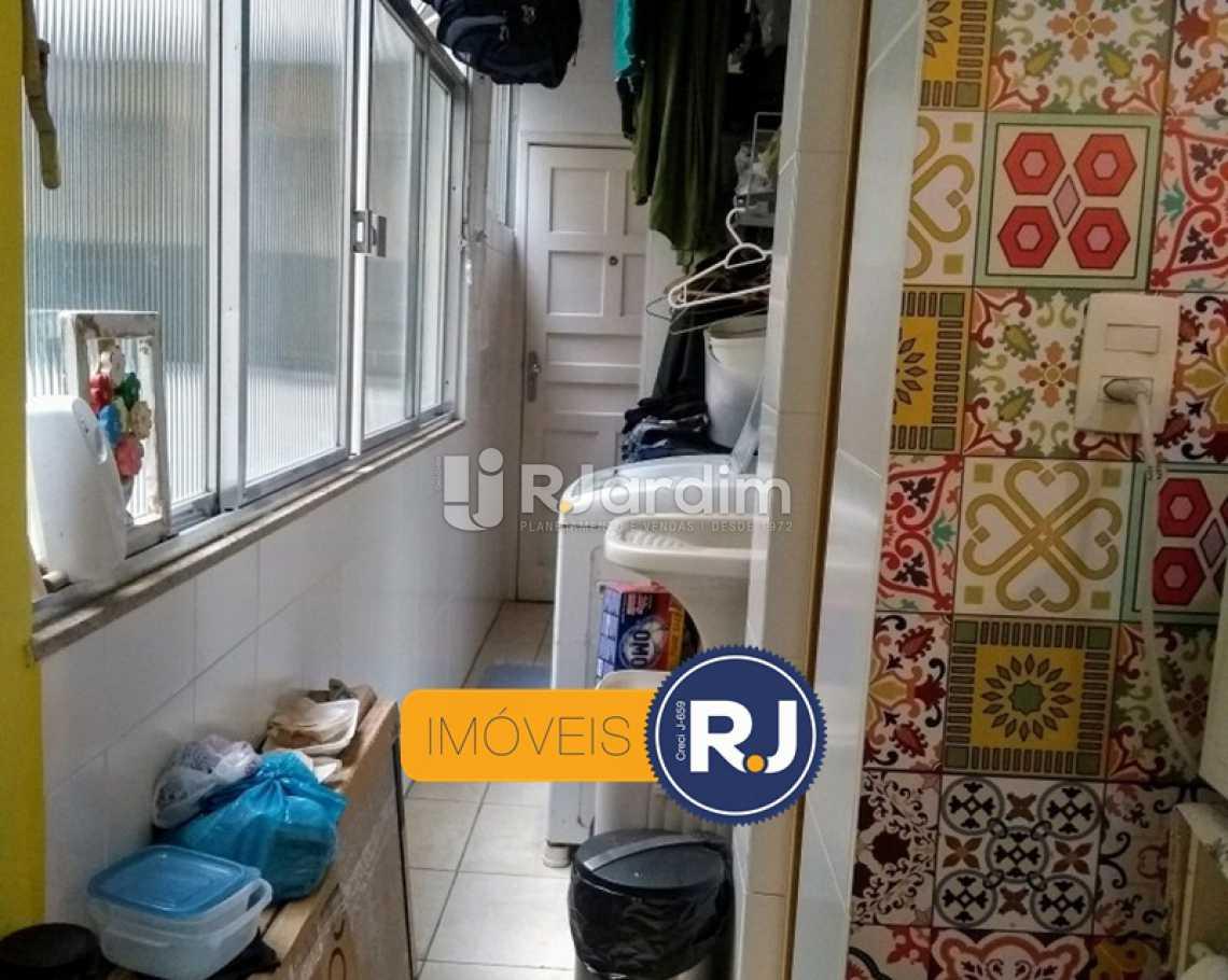 ÁREA DE SERVIÇO  - Apartamento Rua do Humaitá,Humaitá, Zona Sul,Rio de Janeiro, RJ À Venda, 3 Quartos, 83m² - LAAP31379 - 4