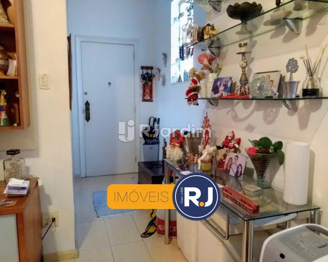 HALL  - Apartamento Rua do Humaitá,Humaitá, Zona Sul,Rio de Janeiro, RJ À Venda, 3 Quartos, 83m² - LAAP31379 - 11