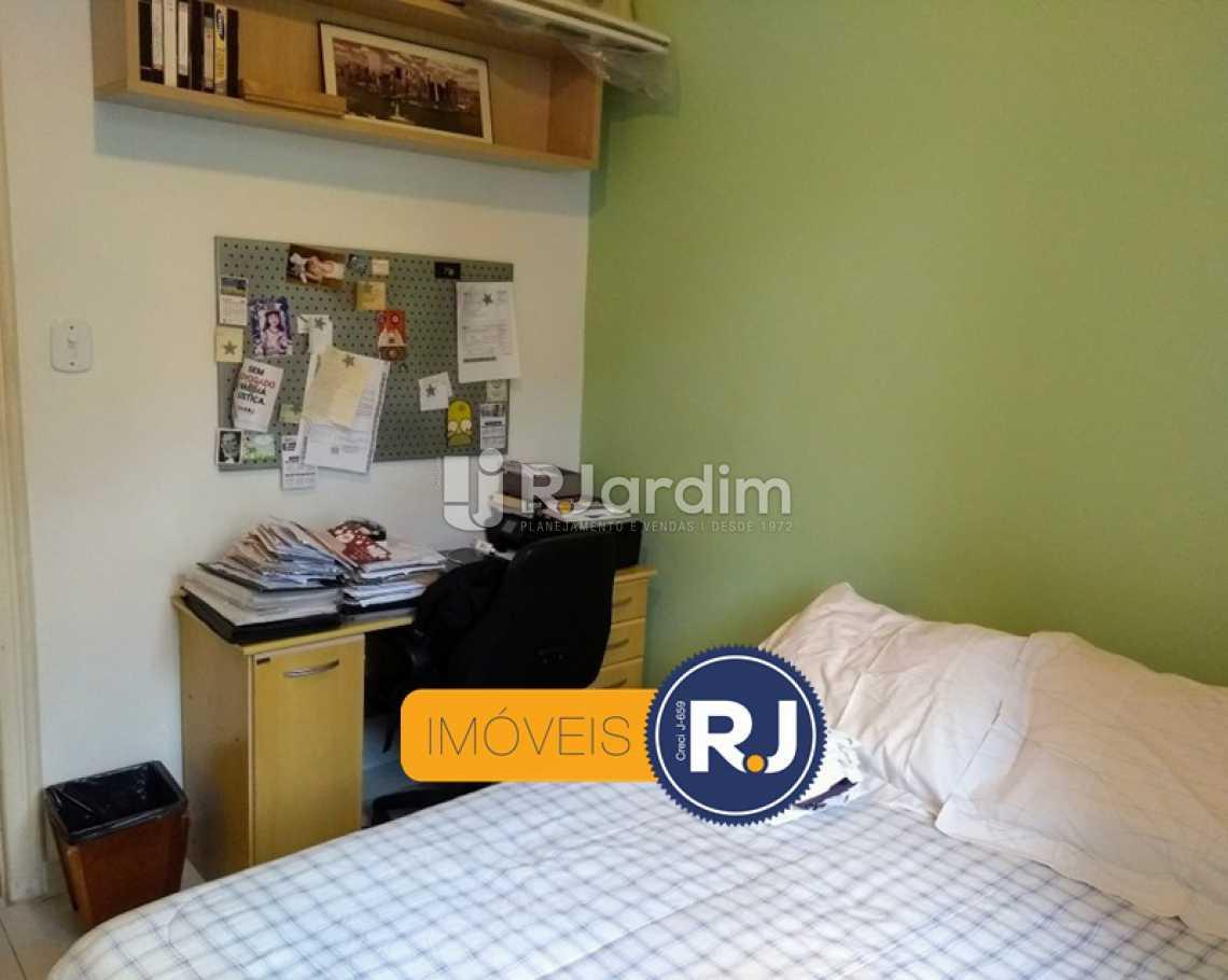 QUARTO 1  - Apartamento Rua do Humaitá,Humaitá, Zona Sul,Rio de Janeiro, RJ À Venda, 3 Quartos, 83m² - LAAP31379 - 12
