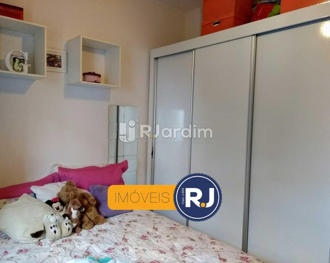 QUARTO 2  - Apartamento Rua do Humaitá,Humaitá, Zona Sul,Rio de Janeiro, RJ À Venda, 3 Quartos, 83m² - LAAP31379 - 15