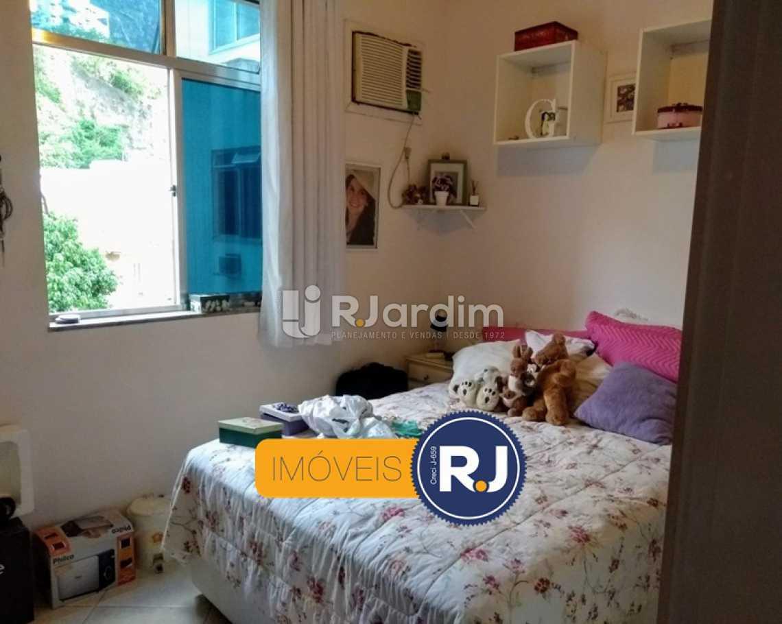QUARTO 2  - Apartamento Rua do Humaitá,Humaitá, Zona Sul,Rio de Janeiro, RJ À Venda, 3 Quartos, 83m² - LAAP31379 - 16