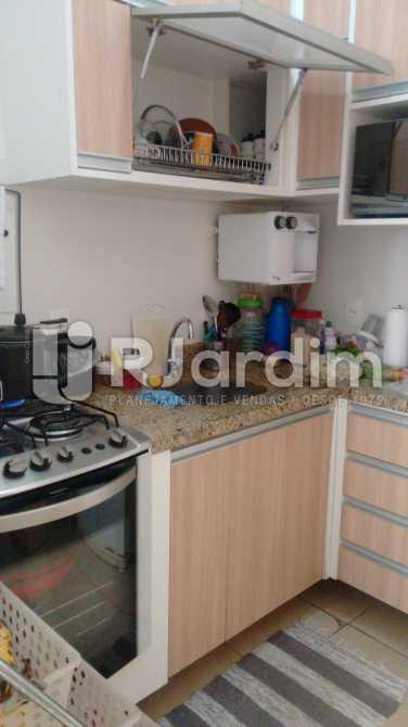 cozinha  - Apartamento Padrão Residencial Lagoa - LAAP31403 - 17
