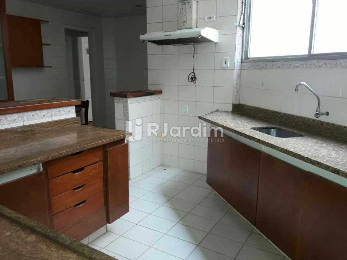 Cozinha  - Apartamento para alugar Rua Joaquim Nabuco,Copacabana, Zona Sul,Rio de Janeiro - R$ 5.800 - LAAP40580 - 25