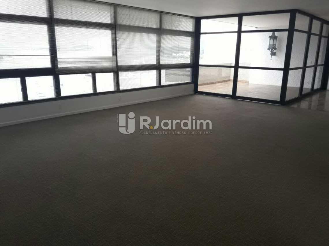 Continuação do salão - Cobertura Botafogo 4 Quartos Aluguel Administração Imóveis - LACO40127 - 4