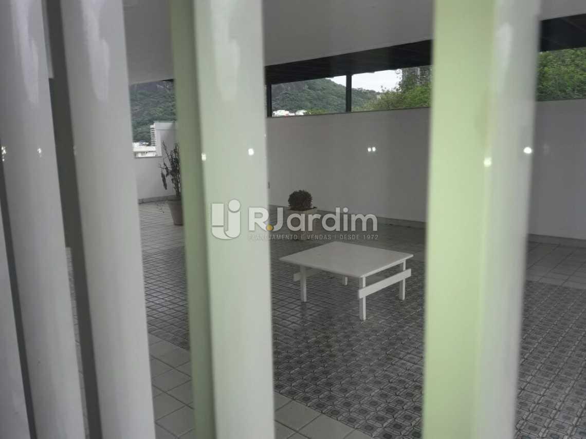 Terraço com vista pra enseada - Cobertura Botafogo 4 Quartos Aluguel Administração Imóveis - LACO40127 - 8