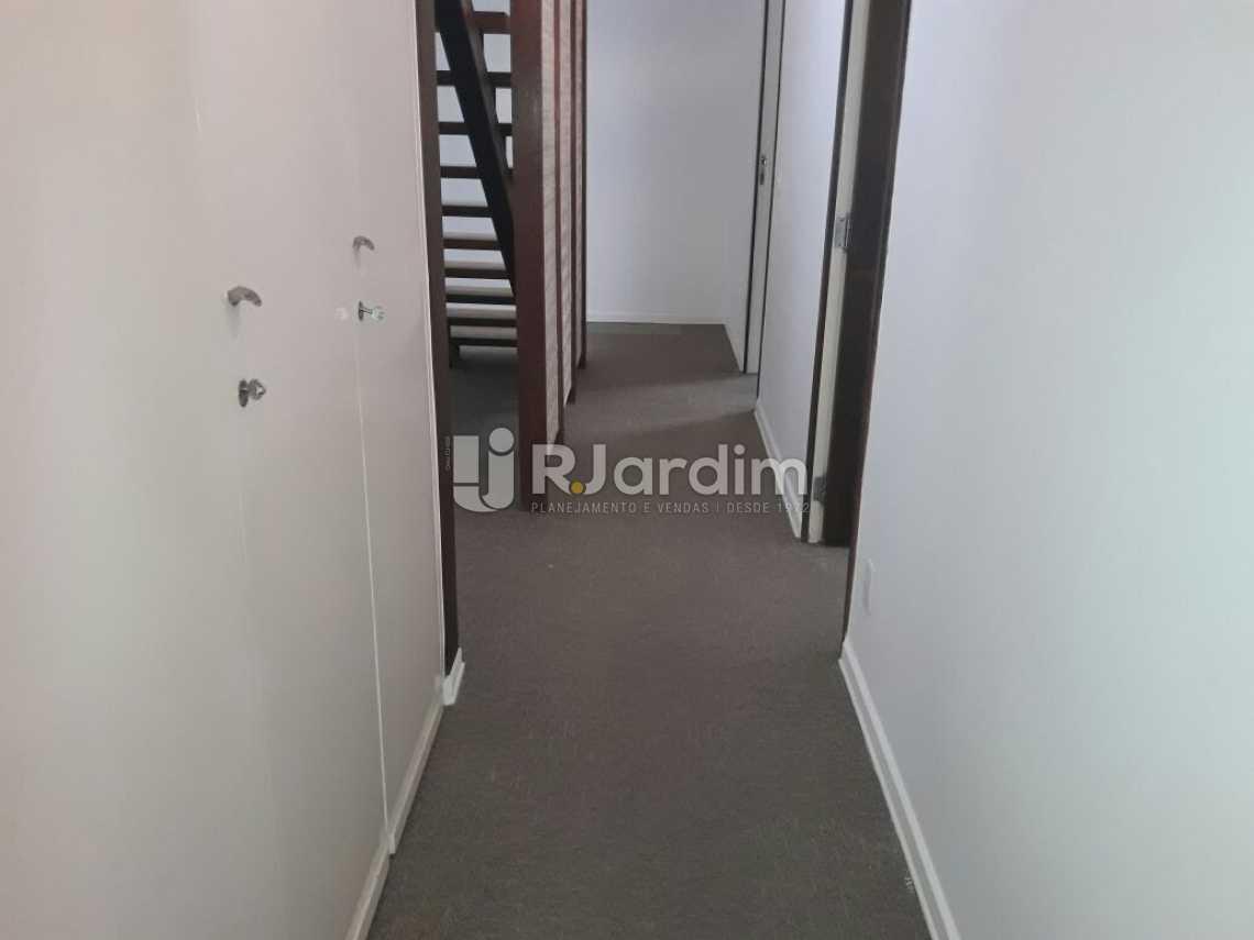 corredor de acesso - Cobertura Botafogo 4 Quartos Aluguel Administração Imóveis - LACO40127 - 11