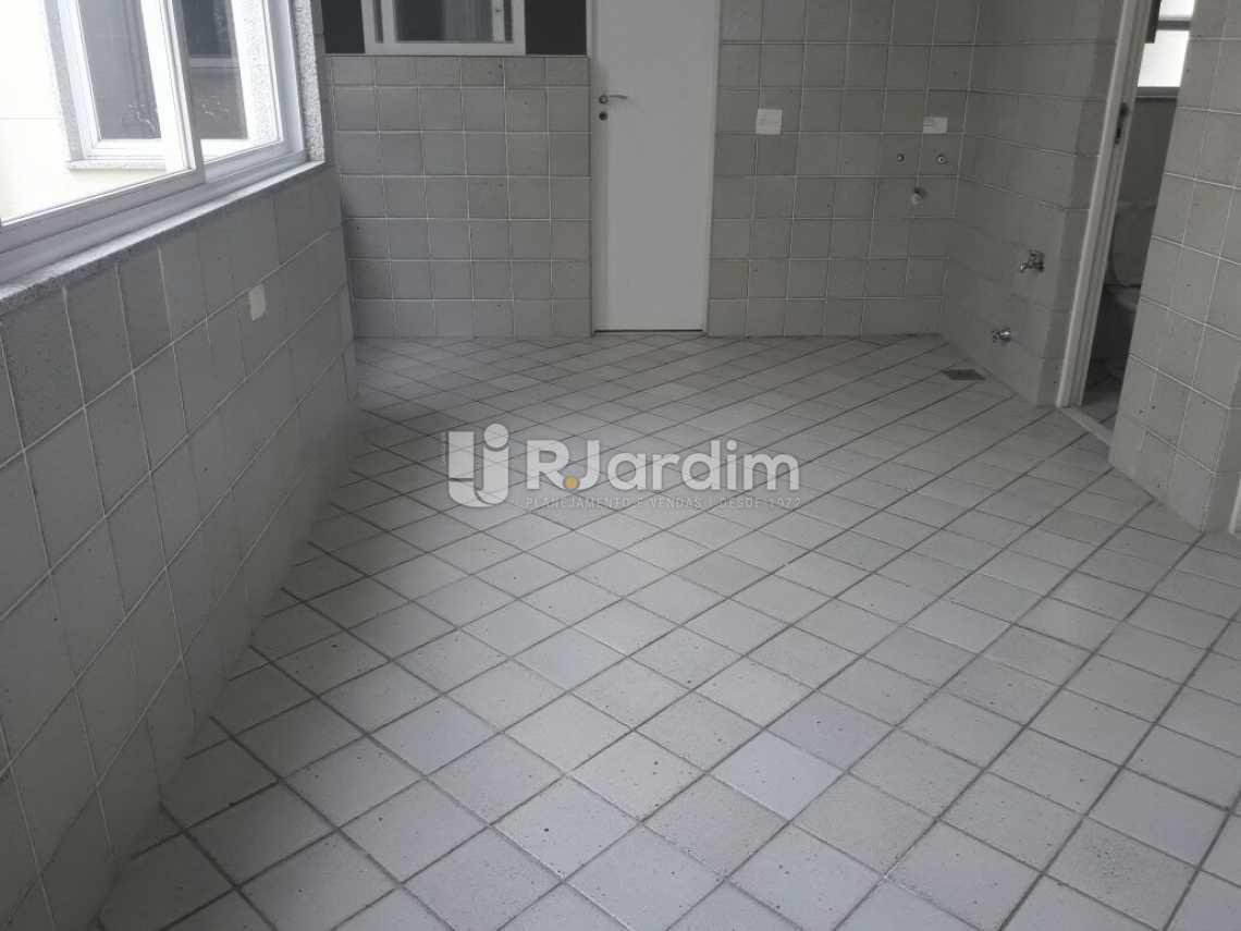 Área de serviço - Cobertura Botafogo 4 Quartos Aluguel Administração Imóveis - LACO40127 - 30