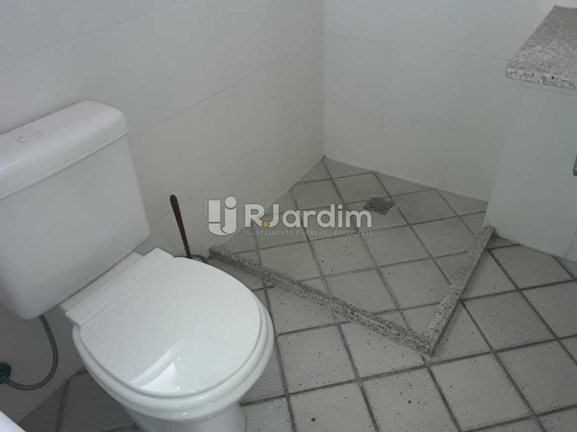 Banheiro de serviço - Cobertura Botafogo 4 Quartos Aluguel Administração Imóveis - LACO40127 - 28