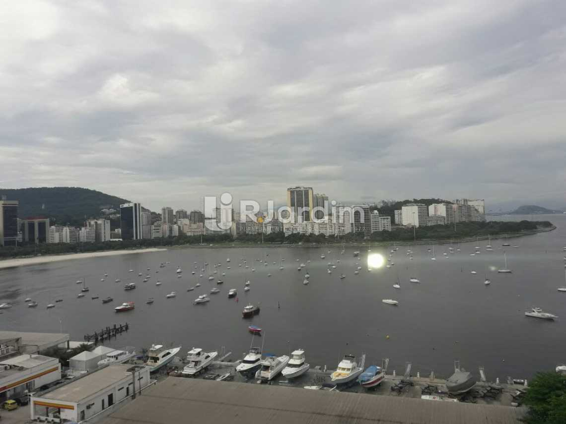 vista do terraço - Cobertura Botafogo 4 Quartos Aluguel Administração Imóveis - LACO40127 - 1