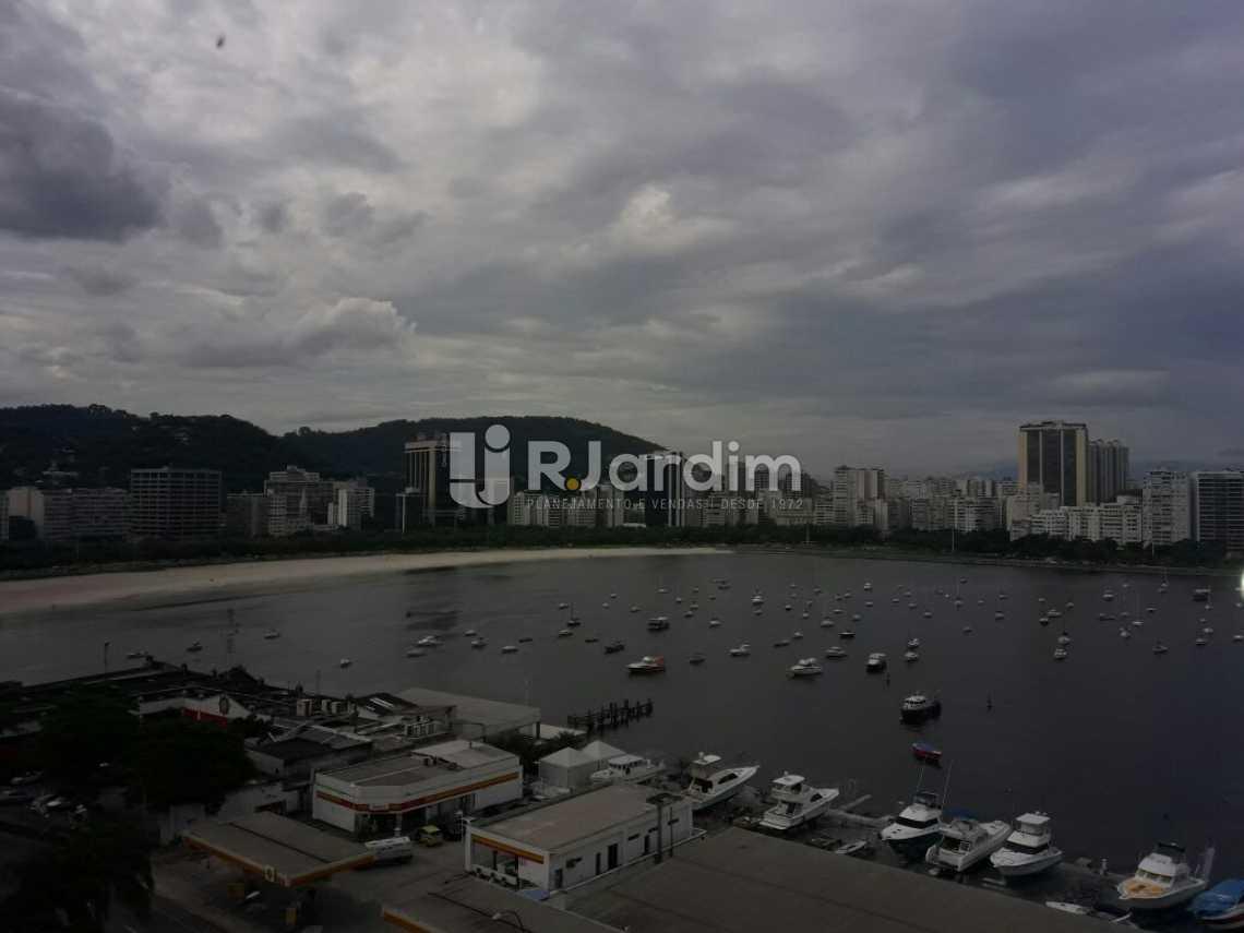 Vista da sala - Cobertura Botafogo 4 Quartos Aluguel Administração Imóveis - LACO40127 - 3