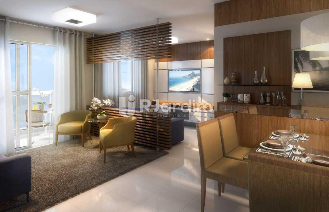 SALA AMPLIADA APT 3 QUARTOS - Apartamento À VENDA, Recreio dos Bandeirantes, Rio de Janeiro, RJ - LAAP31478 - 18