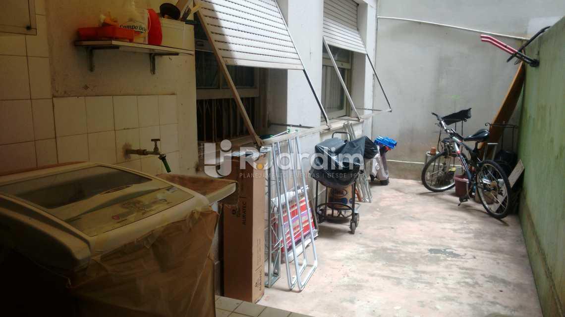 segunda área externa  - Apartamento 4 quartos à venda Copacabana, Zona Sul,Rio de Janeiro - R$ 1.600.000 - LAAP40586 - 18